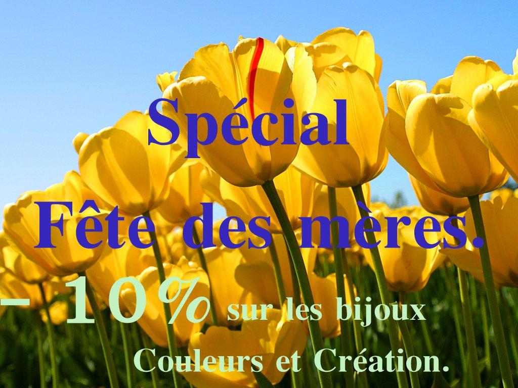 LE 3 JUIN ...on fête les mamans !! dans BIJOUX Tulips